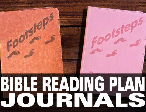 Bible Reading Plan Journal
